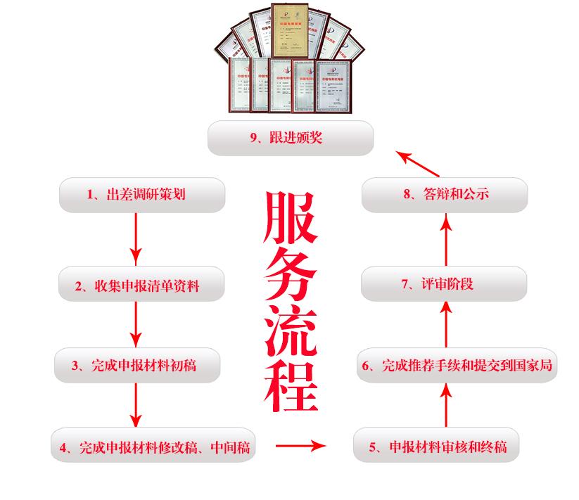 专利奖服务流程